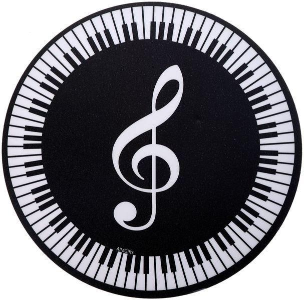 Music Sales Mouse Pad Treble Clef/Keyboard