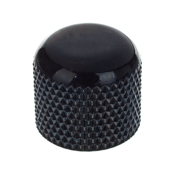 Harley Benton Parts Dome Knobs Plastic Black