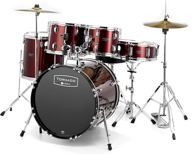 Mapex Tornado Junior Kit Dark Red