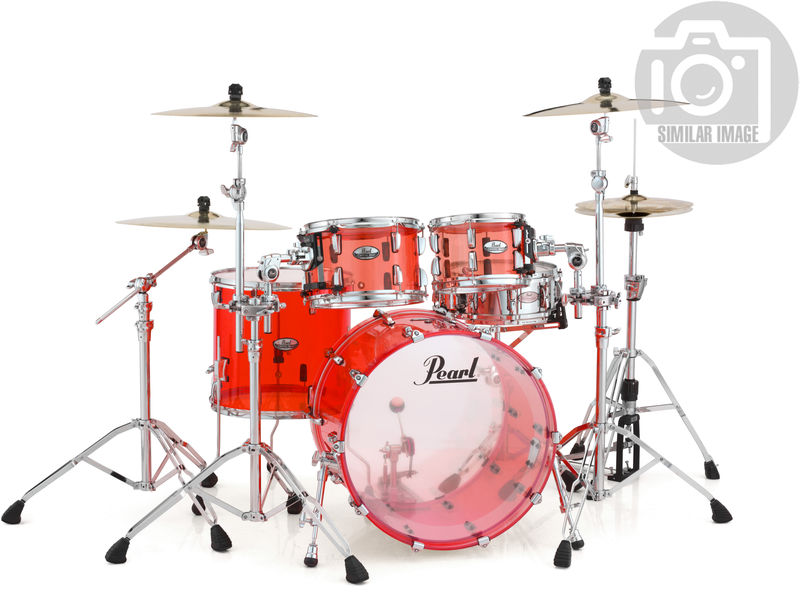 Pearl Crystal Beat Stand. Ruby Red