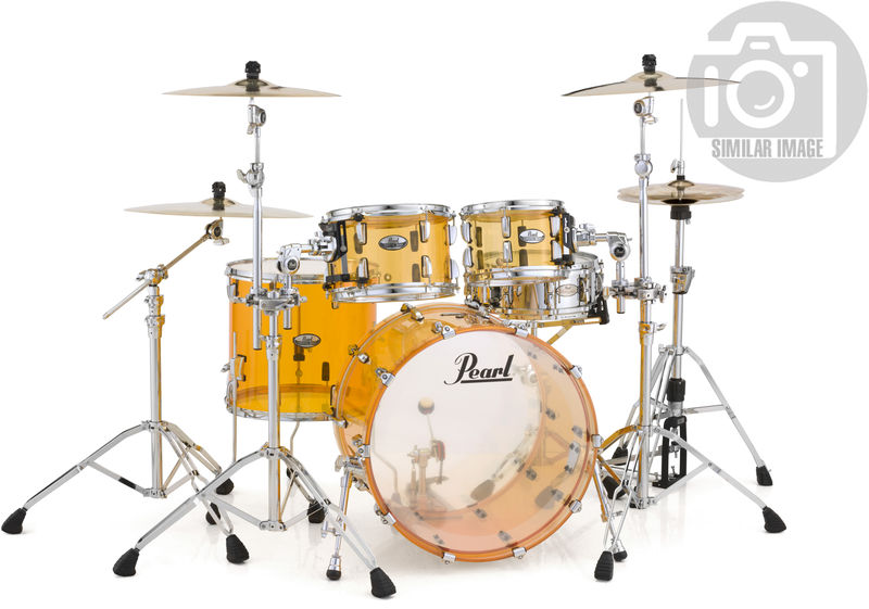 Pearl Crystal Beat Stand.Tangerine