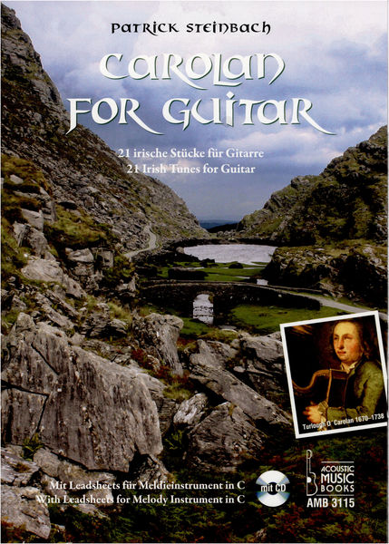 Acoustic Music Carolan for Guitar