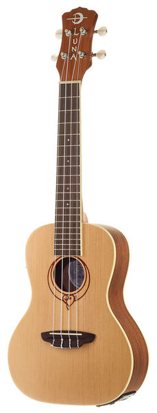 Luna Guitars Ukulele Heartsong Concert