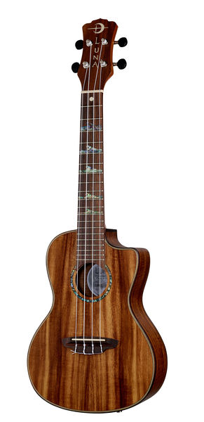 Luna Guitars Ukulele High Tide Koa Concert