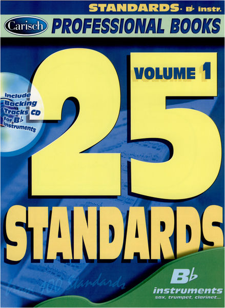 Carisch 25 Standards Bb Instruments