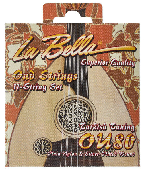 La Bella OU80 Oud Turkish Tuning
