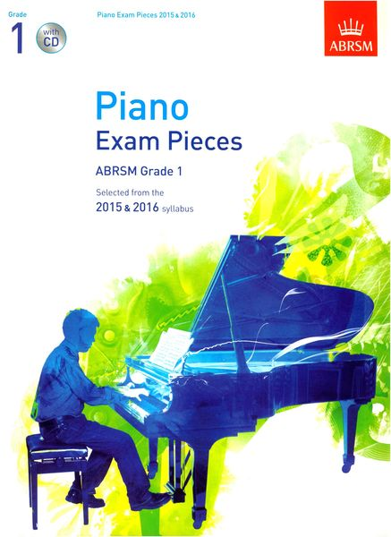 ABRSM Publishing Piano Exam Pieces Grade 1+CD