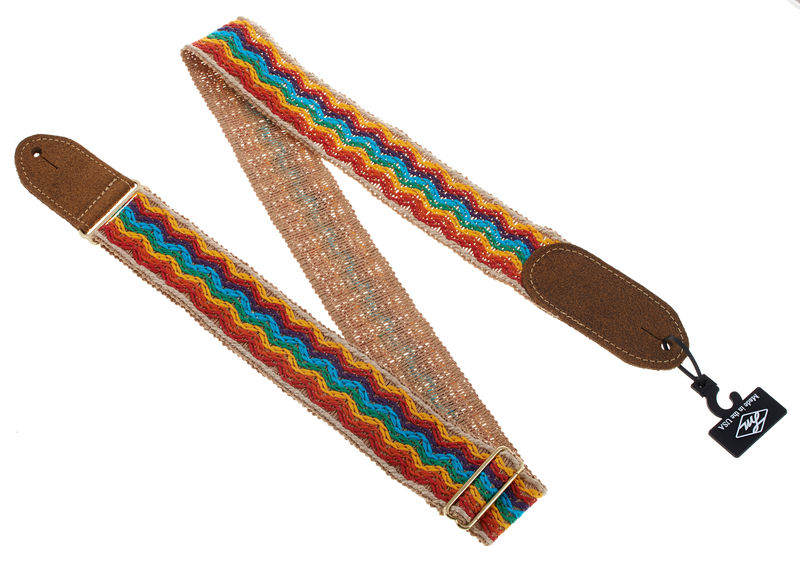 LM Guitar Strap Retro FM-2RB