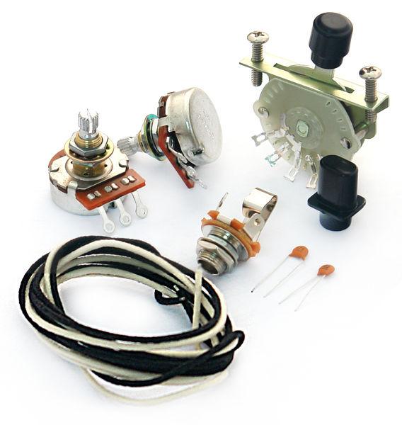 Harley Benton Parts TE-Wiring Kit 4 way
