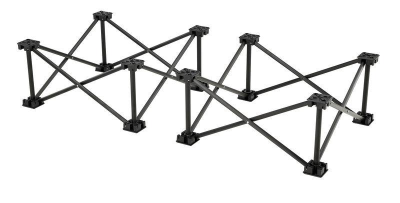 Stairville iX Stage 1x0,5m Raiser 20 cm