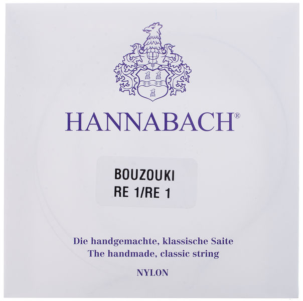 Hannabach Bouzouki Strings Set 2911S6