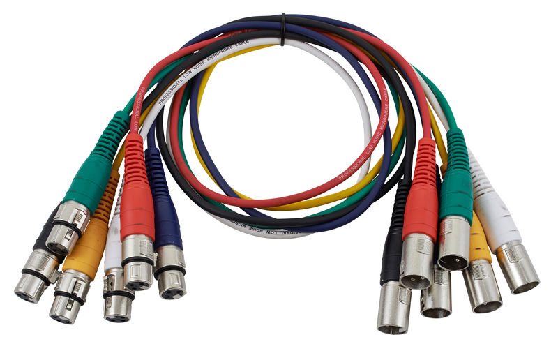 the sssnake XLR Patchcable 0,9