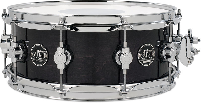 "DW 13""x07"" Performance Sn. Ebony"