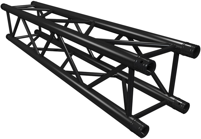 Global Truss F34100-B Truss 1,0m Black