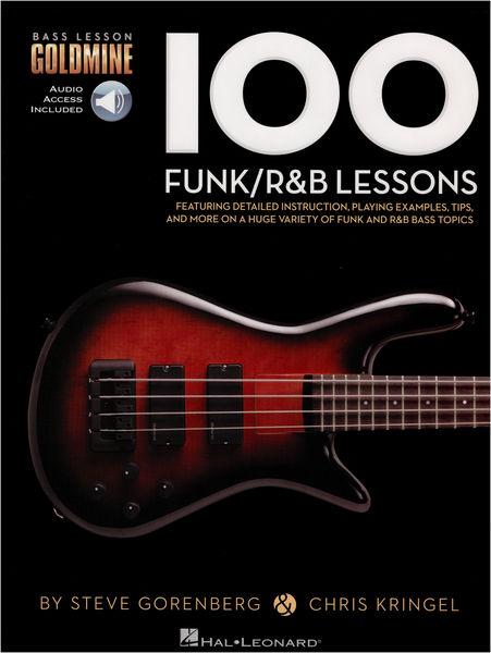 100 Funk/R&B Lessons Bass Hal Leonard