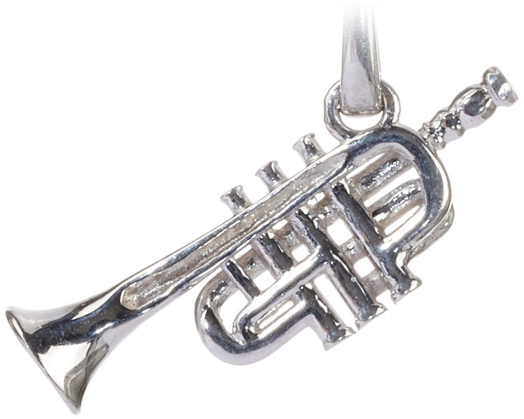 Rockys Necklace Trumpet Silver