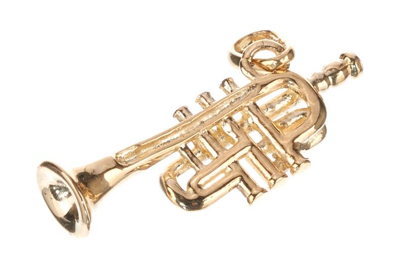 Rockys Pendant Trumpet Gold