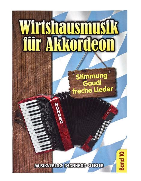 Musikverlag Geiger Wirtshausmusik Akkordeon 10