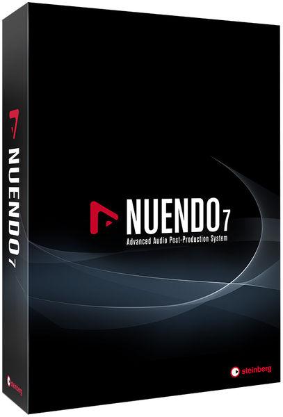 Steinberg Nuendo 7 (GB,D,F,I,ES)