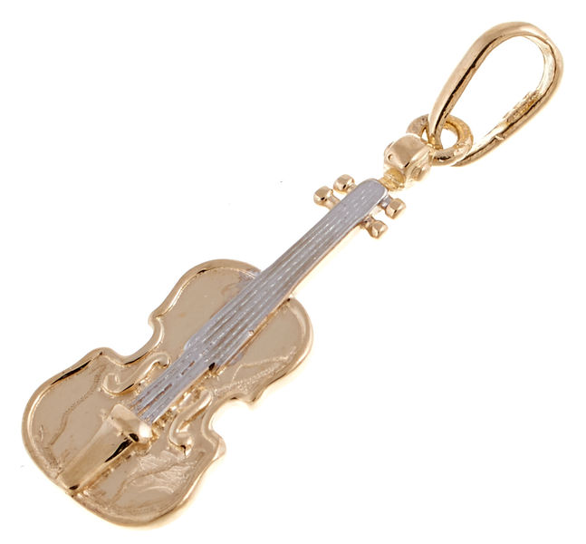 Rockys Pendant Violin Gold