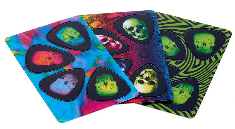 Music Sales PikCard Guitar Picks Skulls
