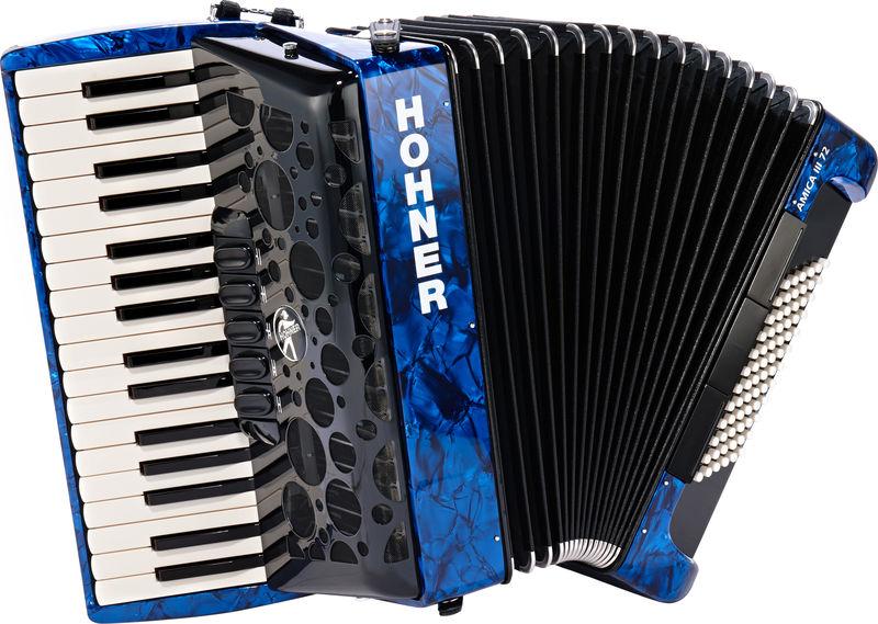 Hohner Amica III 72 Blue (Design 2)