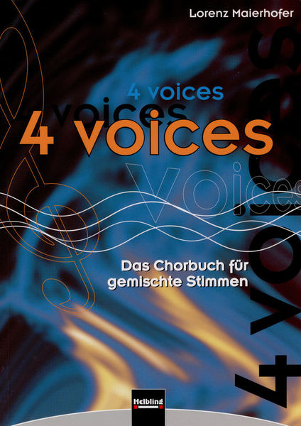Helbling Verlag 4 Voices Chorbuch