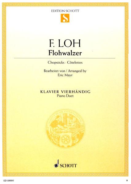 Schott Chopsticks Flohwalzer Piano