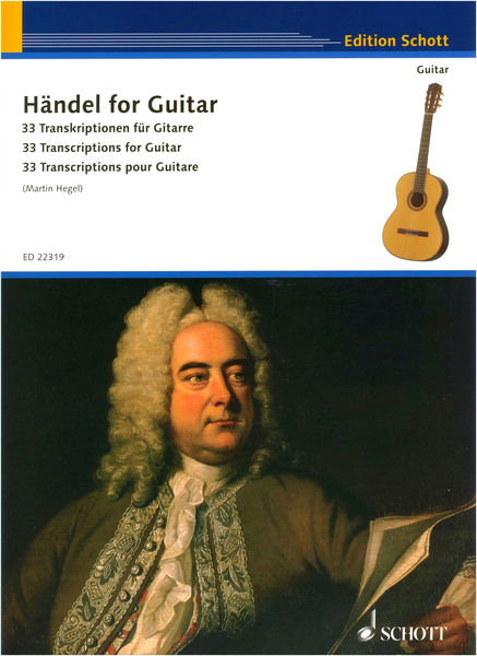 Schott Händel for Guitar