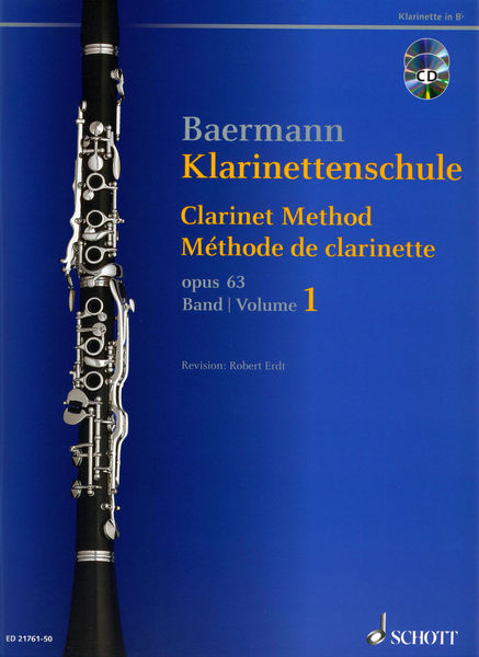 Schott Baermann Clarinet op.63 Vol.1