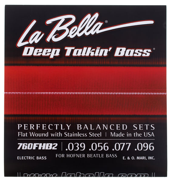 La Bella 760FHB2 Beatle Bass String Set