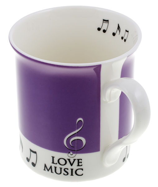 Music Sales Mug Love Music Purple