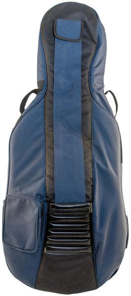 Petz Cello Bag 1/4 BK/BL 18mm