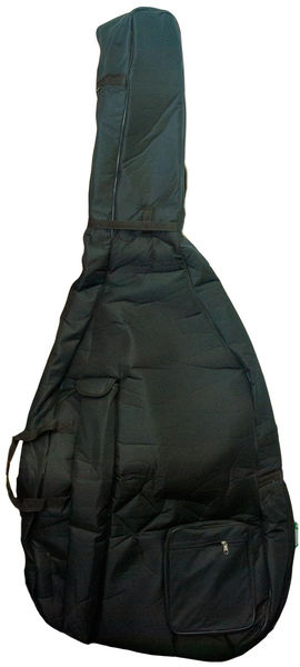 Petz Double Bass Bag 1/4 BK 15mm