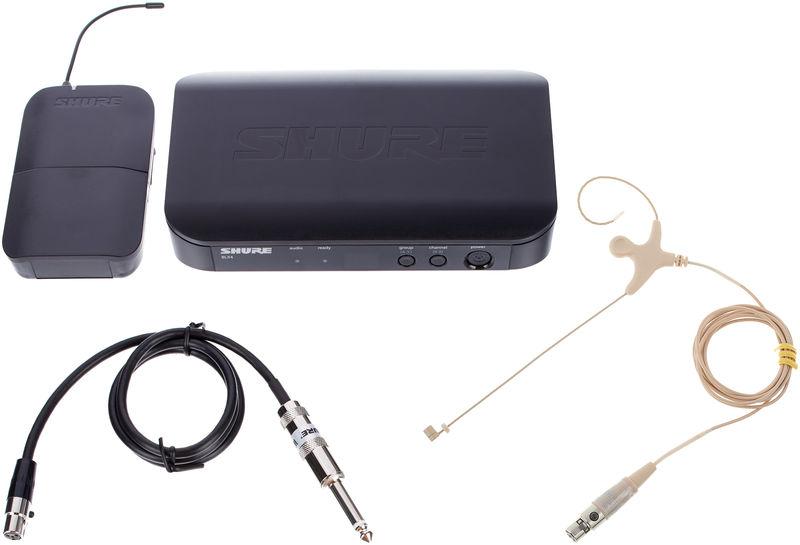 Shure BLX14 S8 EarmiKe D Bundle