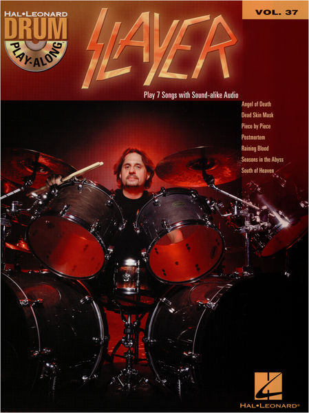 Hal Leonard Drum Play-Along: Slayer
