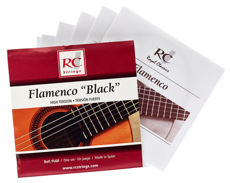 RC Strings Flamenco Black - FL60