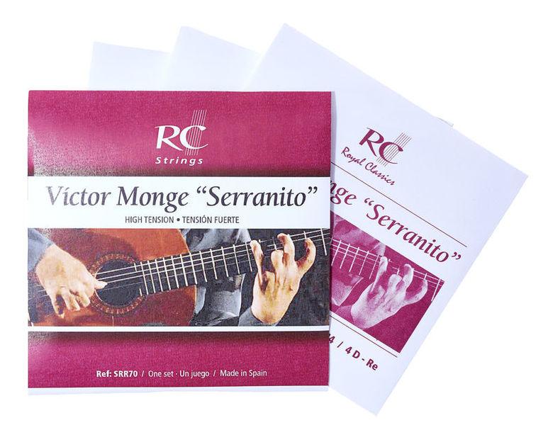 """RC Strings Víctor Monge """"Serranito""""-SRR70"""