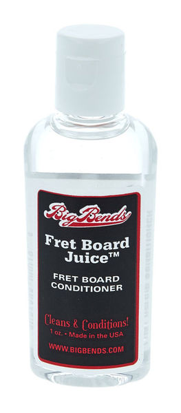 Big Bends Fret Board Juice 1 oz.