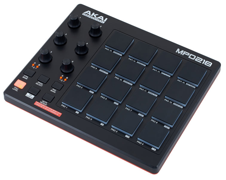 akai mpd218  Akai MPD 218 – Thomann UK