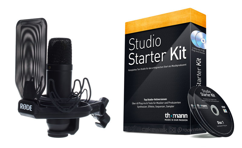 Rode NT1-Kit Software Bundle