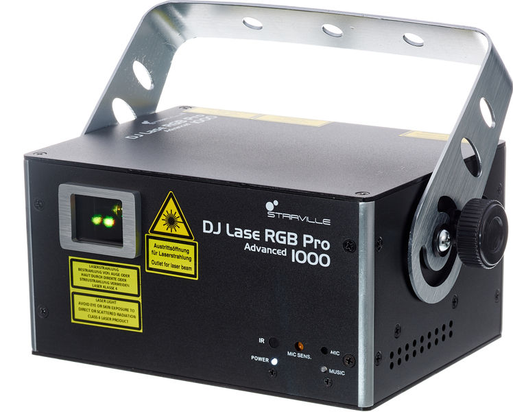 Stairville DJ Lase RGB Pro Advanced 1000