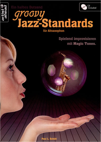 Artist Ahead Musikverlag Groovy Jazz Standards Altsax.