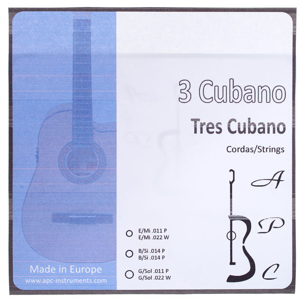 Antonio Pinto Carvalho Tres Cubano Strings Loop-End