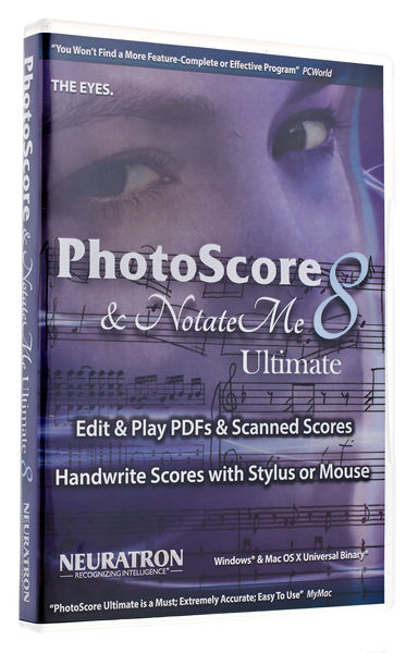 Neuratron PhotoScore Ultimate 8 NotateMe