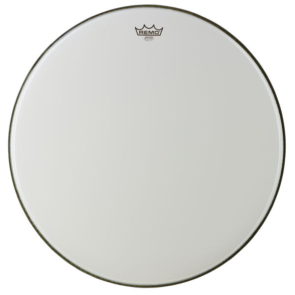 "Remo 24"" Emperor BD smooth white"