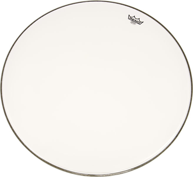 "Remo 26"" Emperor BD smooth white"