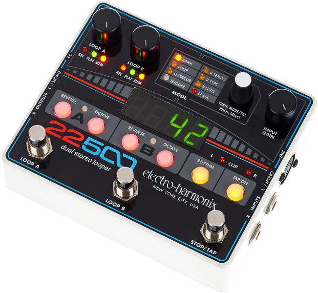 22500 Dual Stereo Looper Electro Harmonix