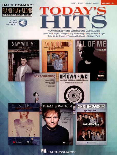 Hal Leonard Piano Play-Along: Today`s Hits
