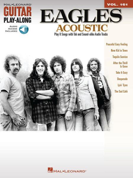Hal Leonard Guitar Play-Along Eagles Acou.